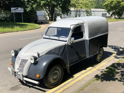 1957 Citroen AZU Fourgonnette Van SOLD (picture 1 of 6)