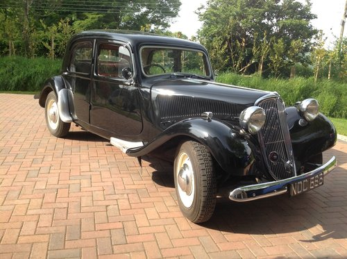 1952 Citroen Traction Avant Light 15 SOLD (picture 1 of 6)