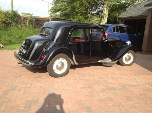 1952 Citroen Traction Avant Light 15 SOLD (picture 4 of 6)