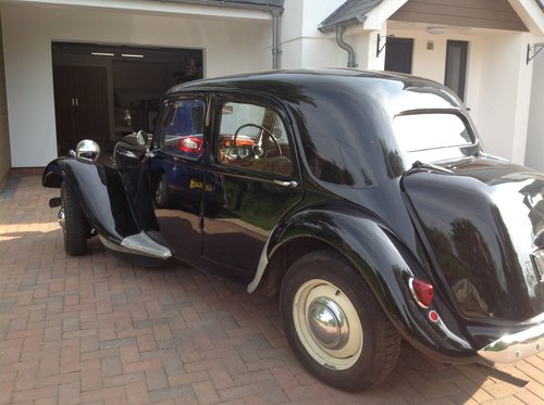 1952 Citroen Traction Avant Light 15 SOLD (picture 6 of 6)