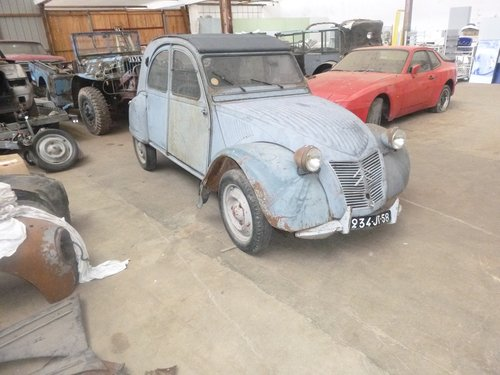 1951 2CV citroen For Sale (picture 1 of 6)