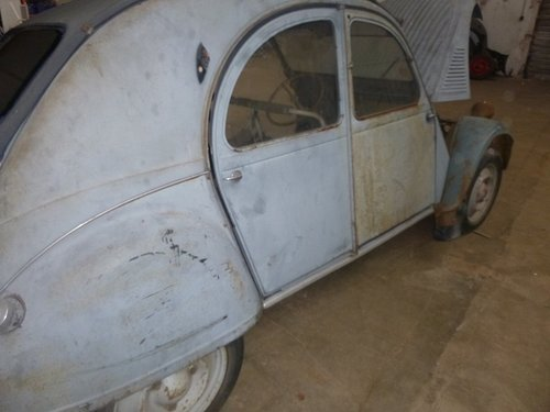 1951 2CV citroen For Sale (picture 3 of 6)