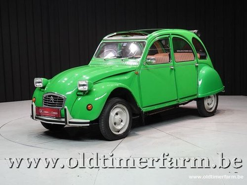 1976 Citroën 2CV Club Vert Bambou '76 For Sale (picture 1 of 6)