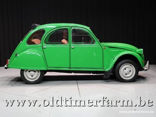 1976 Citroën 2CV Club Vert Bambou '76 For Sale (picture 3 of 6)