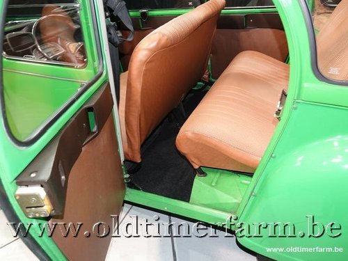1976 Citroën 2CV Club Vert Bambou '76 For Sale (picture 5 of 6)