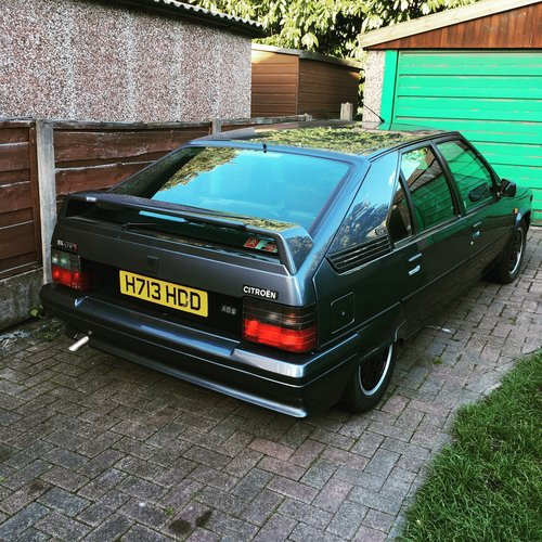 1991 Immaculate Citroen Bx 19 GTI 8valve with A/C SOLD (picture 1 of 6)