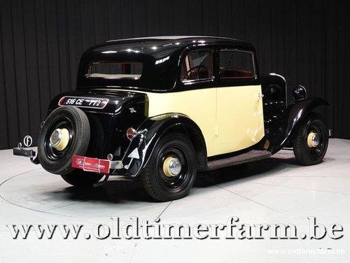 1934 Citroën Rosalie Coach 8A Manessius '34 For Sale (picture 2 of 6)