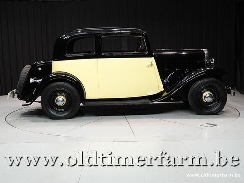 1934 Citroën Rosalie Coach 8A Manessius '34 For Sale (picture 3 of 6)