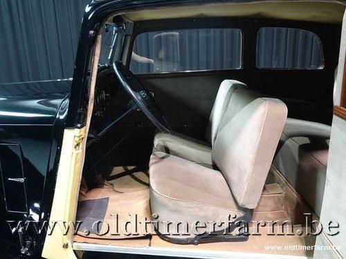 1934 Citroën Rosalie Coach 8A Manessius '34 For Sale (picture 4 of 6)