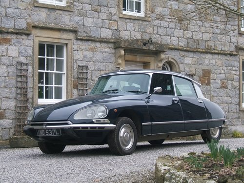VERY RARE 1972 CITROEN DS23 PALLAS WITH AIRCON,60k miles For Sale (picture 1 of 6)