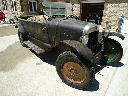 1921 CITROEN B2 10HP TORPEDO LHD For Sale (picture 2 of 6)