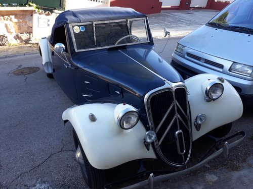 1937 LHD - Citroen 11 Cabriolet For Sale (picture 1 of 6)