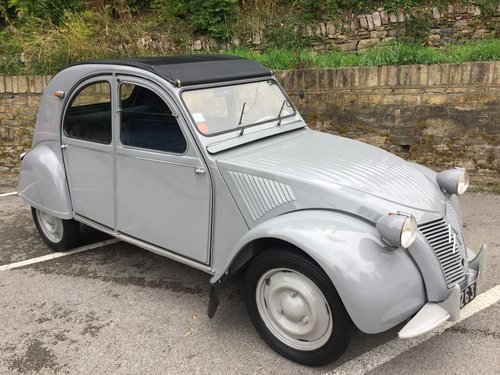 1955 CITROEN 2CV SOLD (picture 1 of 6)