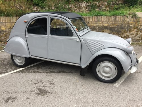 1955 CITROEN 2CV SOLD (picture 3 of 6)