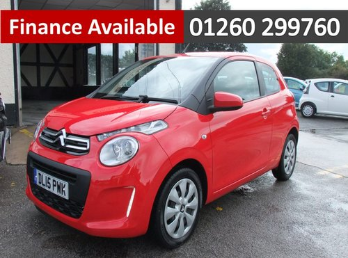 2015 CITROEN C1 1.0 FEEL 3DR SOLD (picture 1 of 6)