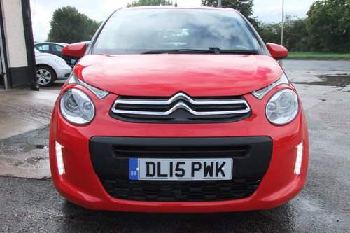 2015 CITROEN C1 1.0 FEEL 3DR SOLD (picture 4 of 6)