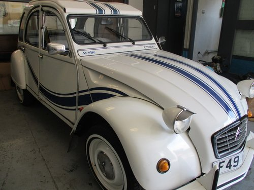 1988 Citroen 2CV Beachcomber Livery For Sale (picture 2 of 4)
