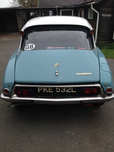 DS 20 Confort 1973 - L/H Drive, Blue, 72k miles  SOLD (picture 4 of 6)