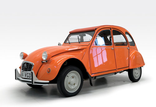 1989 Citroen 2CV6 as new SOLD (picture 1 of 6)