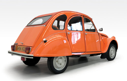 1989 Citroen 2CV6 as new SOLD (picture 2 of 6)