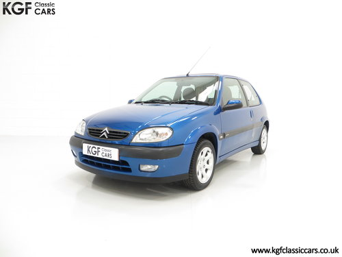 2003 A Preserved Citroen Saxo VTR with 29,751 Miles and One Owner SOLD (picture 2 of 6)