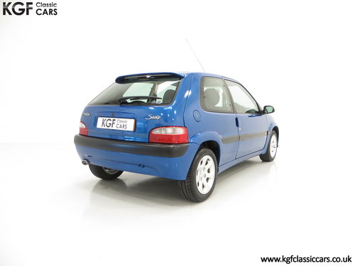 2003 A Preserved Citroen Saxo VTR with 29,751 Miles and One Owner SOLD (picture 5 of 6)