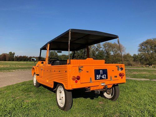 Mehari orange 02-1974 21522km 4 pers. For Sale (picture 2 of 6)