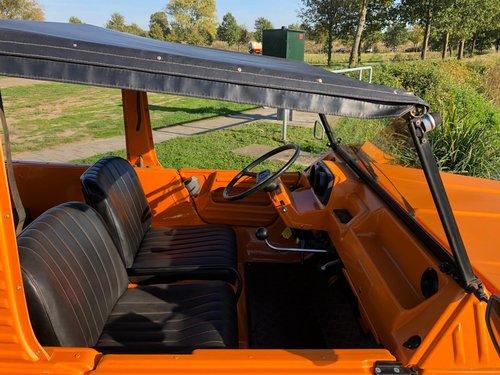 Mehari orange 02-1974 21522km 4 pers. For Sale (picture 4 of 6)