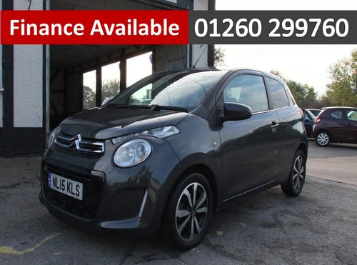 2015 CITROEN C1 1.0 FLAIR 3DR SOLD (picture 1 of 6)