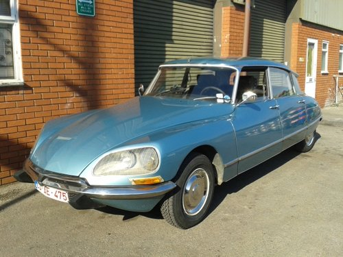 1971 Citroen DS21 Pallas 5-Speed LHD. SOLD (picture 1 of 6)