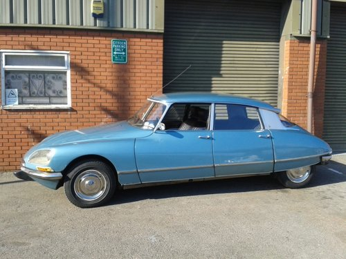 1971 Citroen DS21 Pallas 5-Speed LHD. SOLD (picture 2 of 6)