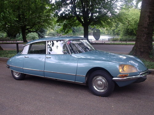 1971 Citroen DS21 Pallas 5-Speed LHD. SOLD (picture 6 of 6)