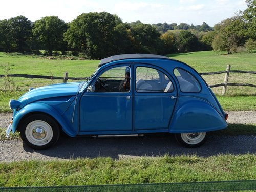 Brilliant 1985 Citroen 2CV, lowered and  SOLD (picture 3 of 6)
