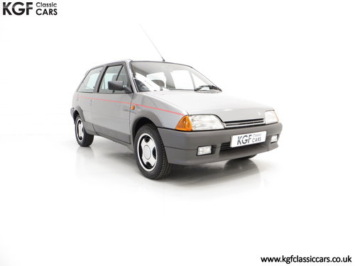 1990 A rare Citroen AX GT with 29,577 miles and totally preserved SOLD (picture 1 of 6)