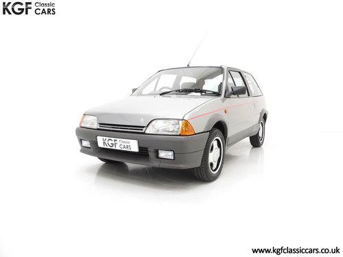 1990 A rare Citroen AX GT with 29,577 miles and totally preserved SOLD (picture 2 of 6)