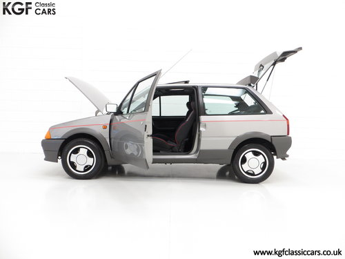 1990 A rare Citroen AX GT with 29,577 miles and totally preserved SOLD (picture 3 of 6)