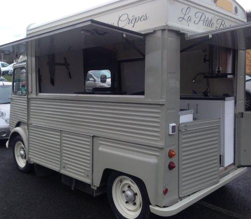 1977 Citroen H van food truck catering van For Sale (picture 2 of 4)