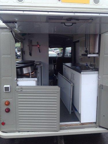 1977 Citroen H van food truck catering van For Sale (picture 3 of 4)