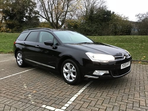 2009 CITROEN C5 VTR+ HDI TOURER ESTATE..FULL HISTORY. SOLD (picture 1 of 6)