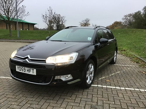 2009 CITROEN C5 VTR+ HDI TOURER ESTATE..FULL HISTORY. SOLD (picture 2 of 6)