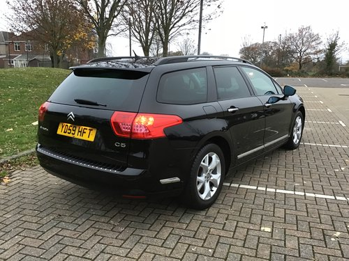 2009 CITROEN C5 VTR+ HDI TOURER ESTATE..FULL HISTORY. SOLD (picture 3 of 6)