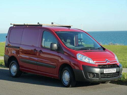 2009 DISPATCH 1.6HDi 90ps L1 H1 1000 SWB VERY CLEAN NO VAT !  SOLD (picture 1 of 6)