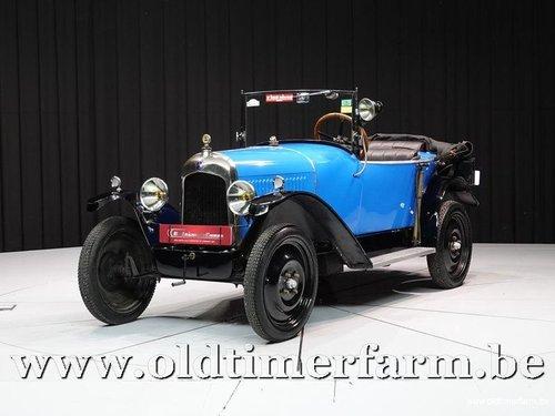 1924 Citroën 5HP Torpédo 3 places en Tréfle C.3 '24 For Sale (picture 1 of 6)