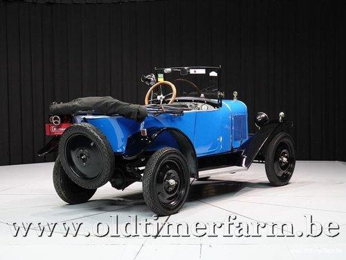 1924 Citroën 5HP Torpédo 3 places en Tréfle C.3 '24 For Sale (picture 2 of 6)