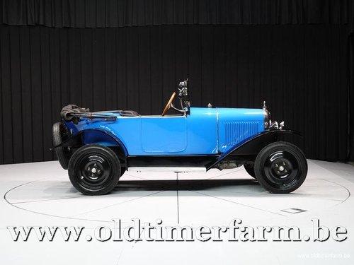 1924 Citroën 5HP Torpédo 3 places en Tréfle C.3 '24 For Sale (picture 3 of 6)