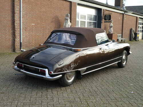 1973 Citroen DS Convertible Chapron For Sale (picture 3 of 6)