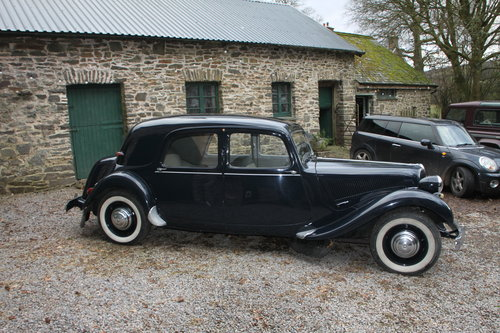 1955 Time warp Citroen Traction Avant only 30k mi For Sale (picture 3 of 6)