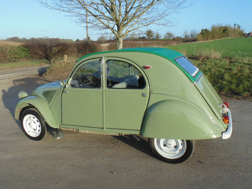 1962 Citroen 2CV SOLD (picture 2 of 6)