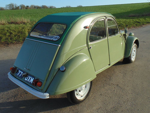 1962 Citroen 2CV SOLD (picture 3 of 6)