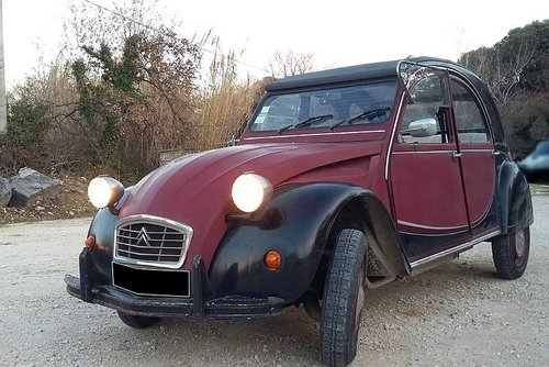 2CV6 CHARLESTON 1983 SOLD (picture 1 of 6)